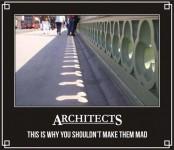 Bliv aldrig uvenner med en arkitekt