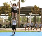 Cheerleading kræver gode kræfter
