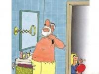 Husk at være stille i badeværelset