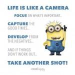Livet er som et kamera