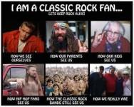 Opfattelsen af ægte rock fans