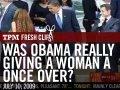 Kigger Obama og Sarkozy efter piger